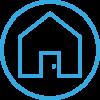 Positive House_Blue